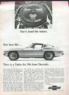Classic Vintage Advertisement Ad D160 1975 Chevrolet Chevy Corvette 1953 1965