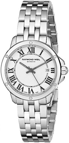Pin for Later: Kate Middleton Just Had a Red-Hot Moment at Wimbledon  Raymond Weil Watch ($995)
