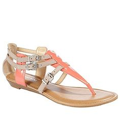 Gianni Bini Linnie T-Strap Sandals | Dillards.com!! I am obsessed with these shoes!!!