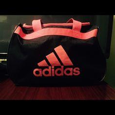a667bc753c1a Gym Bag! Adidas Diablo Duffle Black Neon Coral Orange Pink Gym Bag! It is.  Спортивные КостюмыAdidas Женская ...
