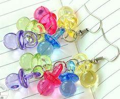 little plastic pacifiers
