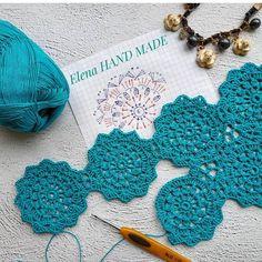 How to Crochet into the Third Loop Video Tutorial Crochet Diagram, Crochet Chart, Thread Crochet, Crochet Motif, Irish Crochet, Crochet Designs, Crochet Doilies, Crochet Round, Easy Crochet