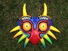 Majora's Mask by Xaveric Zelda Tattoo, Legend Of Zelda, Artisan, Cosplay, Deviantart, Crafty, Costumes, Christmas Ornaments, Handmade Gifts