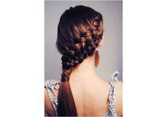 Trenzadas Peinados: Inspiration Pinterest Para Vestirse una cola de caballo   Belleza alta