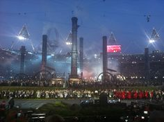 London 2012 opening ceremony. SO many great memories here.