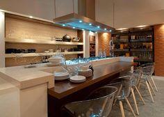 Cozinhas com ilhas – veja dicas + 30 modelos de ilhas de cocção e refeição maravilhosas! - Decor Salteado - Blog de Decoração e Arquitetura
