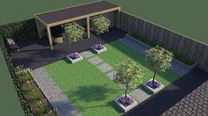 Pergola For Sale Lowes Back Gardens, Small Gardens, Outdoor Gardens, Small Space Interior Design, Small Backyard Design, Garden Planning, Garden Inspiration, Backyard Landscaping, Landscape Design