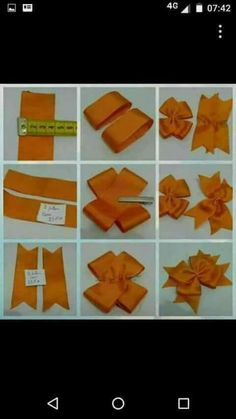 Diy Crafts - Pinwheel bow or clip Diy Ribbon, Ribbon Crafts, Ribbon Bows, Ribbons, Grosgrain Ribbon, Making Hair Bows, Diy Hair Bows, Bow Making Tutorials, Pinwheel Bow