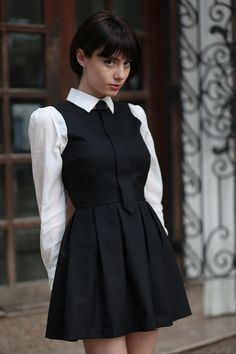 'An Education' Style. Fashion Moda, Love Fashion, Girl Fashion, Vintage Fashion, Womens Fashion, Classy Outfits, Girl Outfits, Fashion Outfits, School Dresses