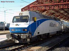 Locomotora 252.021 de Renfe Grandes Líneas, versión Altaria