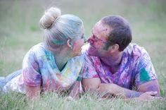exodus31three: Color Me Happy - A Colored Powder Photo Session