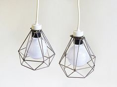 i would love it if these were actually really small and earrings - :) cute! #lamp