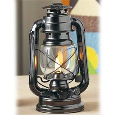 Lamplight Farms 9-Inch Black Farmer's Lantern