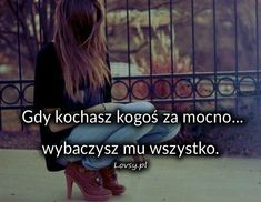 Lovsy.pl - Strona pełna uczuć. Sad Quotes, Life Quotes, Life Without You, Quotations, My Life, Facts, Polish, Projects, Humor