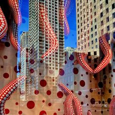 Louis Vuitton Window Reflections ~ Chicago