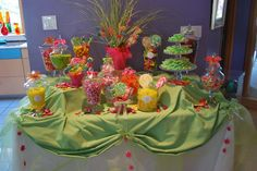 Colorful Springy Buffet