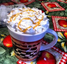 This is my version of Starbuck' caramel vanilla latte - from the Crafty side of Sarcasm