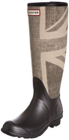 Hunter Original Brit - Botas de agua de caña alta con bandera de Reino Unido unisex, color gris, talla 37 de Hunter, http://www.amazon.es/dp/B006Q5XOQU/ref=cm_sw_r_pi_dp_iJ6Xqb113KPF4