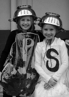 {starring officer chayse, chief of kindergartners... and 'salt', with her bff, 'pepper'}