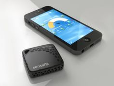 Personal sensor measures UV index, temperature, humidity, and more