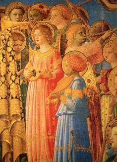 Coronation of the Virgin (detail)