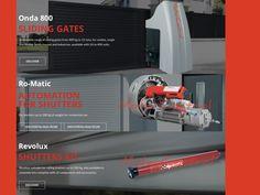 Μοτέρ για συρόμενες πόρτες Aprimatic. Μοτέρ για ρολά και τέντες Aprimatic.  Motors for sliding garage doors Motors for roll shutters and tents