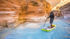 Paddleboard Through the Canyons of the Colorado River (No Permit Required) - Men's Journal