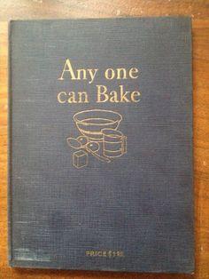 Any One Can Bake. $12.00, via Etsy.