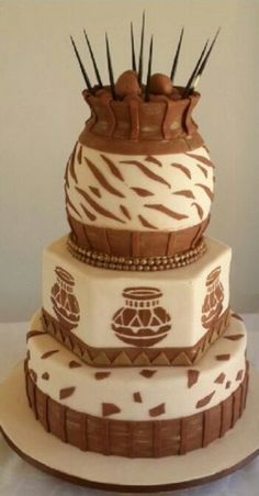Related image - Home Page Zulu Traditional Wedding, Traditional Cakes, Beautiful Cakes, Amazing Cakes, Blaze Birthday Cake, Beaded Wedding Cake, African Wedding Cakes, African Cake, Bling Cakes