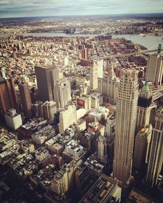 What a view!  #seeforever #oneworldtradecenter #newyork Big Apple is great!