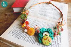 Chicken necklace by FraGiú handmade  www.facebook.com/fragiuhandmade  Instagram: fragiuhandmade