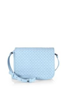 Bottega Veneta - Small Woven Crossbody - Saks.com