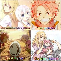 BURN! IM SORRY FOR ALL NALI FANS BUT I THINK ITS ALREADY OBVIOUS THAT NALU IS REAL AND NALU IS FOREVER! >//////////<