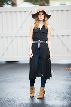 How to Wear a Dress Over Jeans — Galbraith