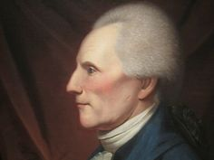 Richard Henry Lee by Charles Willson Peale, (National Portrait Gallery)