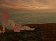 :DD. Virtual World, Virtual Reality, Imvu, Avatar, Celestial, Sunset, Outdoor, Outdoors, Sunsets