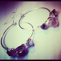 Diamond earrings www.beadsofparadisenyc.com