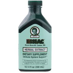 Essiac Liquid Herbal Extract from Rene Caisse | A world renowned, herbal formula developed by Rene M. Caisse to help support the immune system. Size: 10.14 fl. oz. bottle
