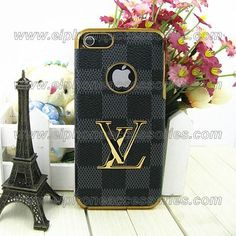 Luxury Louis Vuitton iPhone 5 Case iPhone 5 Cover Damier Black
