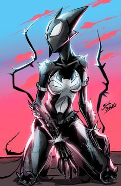 another symbiote to the collection Superior venom Comic Book Characters, Marvel Characters, Comic Character, Comic Books Art, Comic Art, Venom Comics, Marvel Venom, Marvel Dc Comics, Marvel Heroes