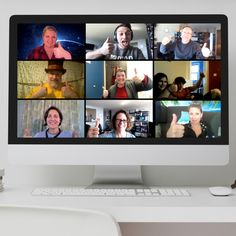 Big Thumbs up for iQuiz Networking Experience! Remote, Motivation, Big, Pilot, Inspiration