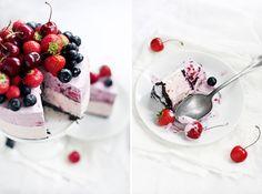 No-bake berry cheesecake / Call me cupcake!
