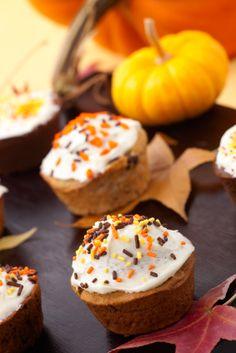 #Vegan Pumpkin Chocolate Chip Cupcakes.