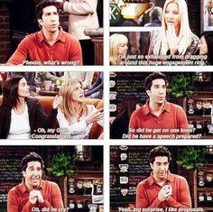 Ross loves proposals