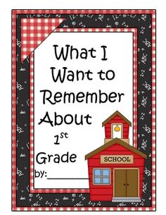 Free end of the year writing activity for 1st grade