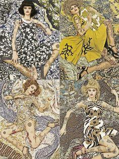 Steven Meisel   Vogue Patterns print pattern