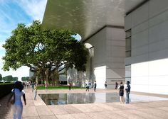 Works begins on Foster + Partners' Norton Museum expansion in Florida's West Palm Beach