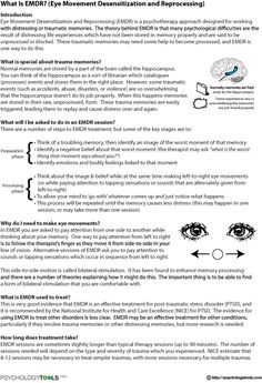 What Is EMDR? (Eye Movement Desensitization and Reprocessing)