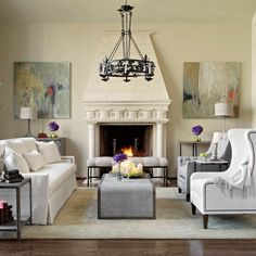 Symmetrical balance identical objects are placed on both for Asymmetrical balance in interior design