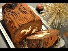Bûche de Noël marrons, chocolat praliné / Herve Cuisine